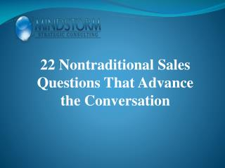 sales strategy consulting