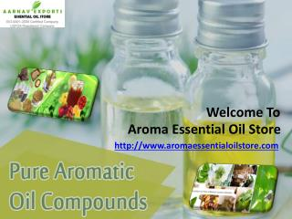 Organic essential oils india
