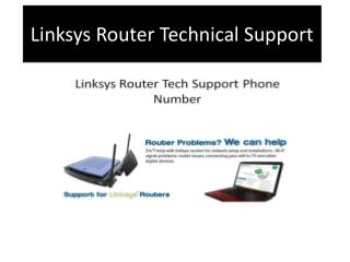How to Contact Linksys Router Technical Support via Phone Number