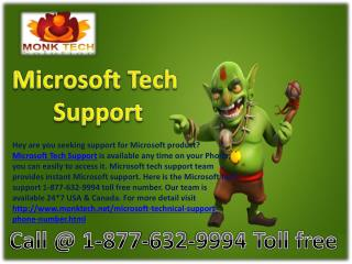 Microsoft tech support number %% 1-877-632-9994 toll free