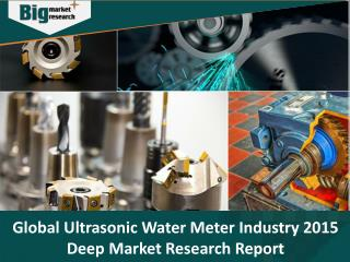 Ultrasonic Water Meter Industry - Size, Share, Trends and Market Forecast 2015 - Big Market Research