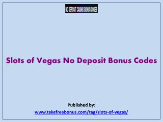 Slots of Vegas No Deposit Bonus Codes