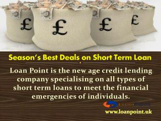 Short Term Loans Meeting With Your Financial Needs