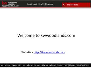 The woodlands real estate