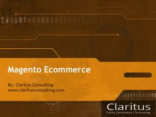 What is Magento eCommerce?