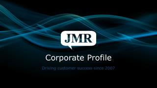 Jmr infotech corporate profile