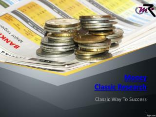 Intraday Trading Tips-Money-Classic-Research
