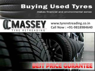 Massey second hand tyre dealers in Noida