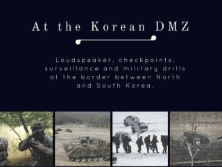 At the Korean DMZ