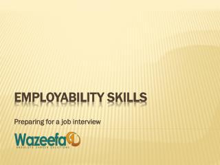Preparing for a job interview by Wazeefa4