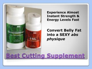 Best St Supplement For Cutting
