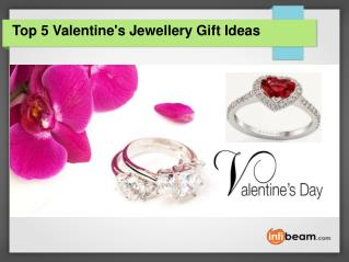 Top 5 Valentine's Jewellery Gift Ideas