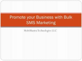 Bulk sms company Dubai | Mobishastra.com