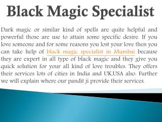 Black magic specialist in Punjab