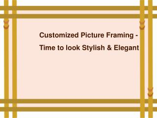 Best Custom Picture Frames – Paintbox Art & Framing