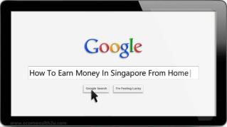 How To Earn Money In Singapore From Home