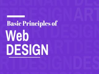 Important Principles of Web Design