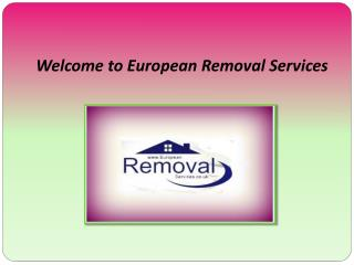 Removals to Spain | European Removals Services