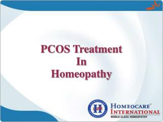 Healthy Homeopathy Approach To Prevent PCOS