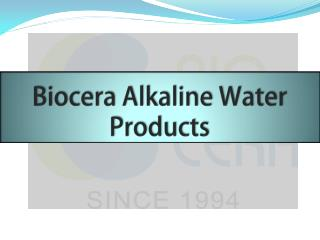 Biocera Alkaline Water Products