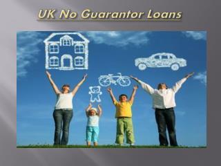 UK No Guarantor Loans