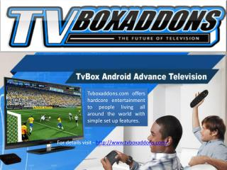 Best Tv Box Addons Available at Tvboxaddons.com