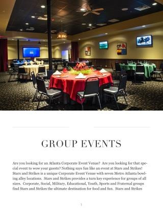 Atlanta Event Rental Facility