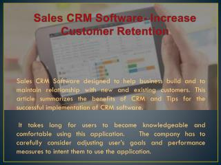 Sales CRM Software, Crm Software India