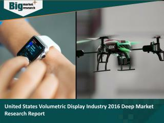 United States Volumetric Display Industry 2016 Deep Market Research Report