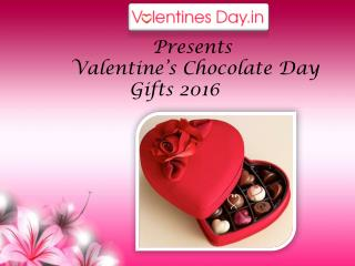 Valentine's Chocolate Day Gifts 2016