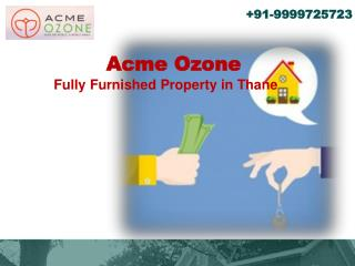 Acme Ozone Luxurious Apartment for Sale in Thane Mumbai