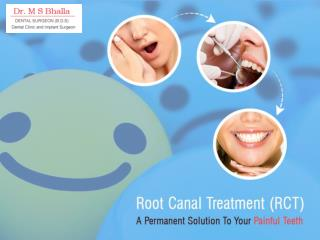 Root canal treatment: A final solution to sensitive teeth