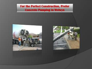 For the Perfect Construction, Prefer Concrete Pumping in Welwyn