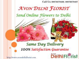 Avon Delhi Florist: Your Florist in Delhi for online flowers delivery