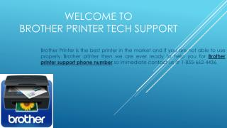 Brother Printer Contact Support Phone Numbwer 1-855-662-4436