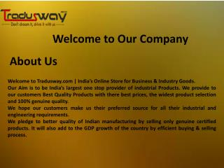 Online Industrial Tools on Tradusway.com