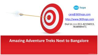 Amazing Adventure Treks Next to Bangalore