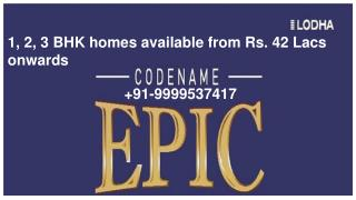 properties in thane,  lodha group Thane projects