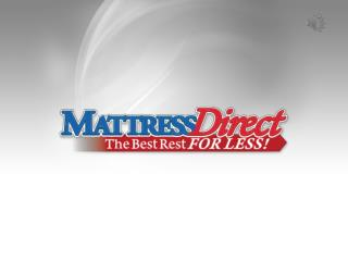 Buy Foam Mattresses at Discounted Prices from Mattress Direct
