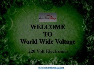 220 volts electronics