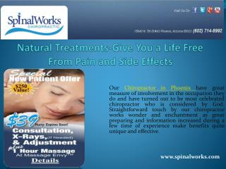 Natural Treatments-Give You a Life Free From Pain and Side Effects