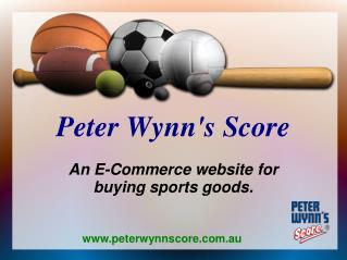 E-commerce Website For Rugby League Products