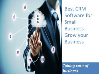 Best CRM Software for Small Business,Customer Relationship Management Software