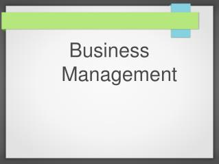 Gary Youssef - Business Management