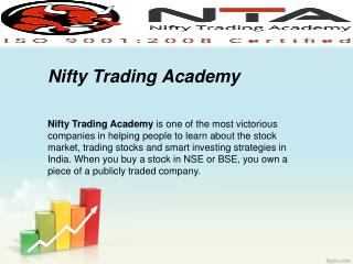 Online Nifty Trading Academy Surat