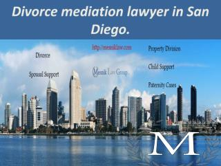 mediation lawyer in San Diego