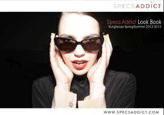Specs Addict Look Book | Sunglasses