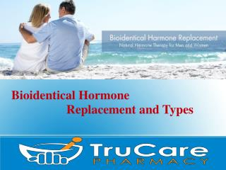 Bioidentical Hormone Replacement and Types