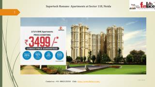 Supertech Romano 2 BHK Premium Apartment at Noida
