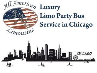 Hire Luxury Limousine Party Bus Service in Chicago : : For Stylish Traveling Experience